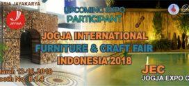 JIFFINA (JOGJA INTERNATIONAL FURNITURE AND CRAFT FAIR INDONESIA 2018)