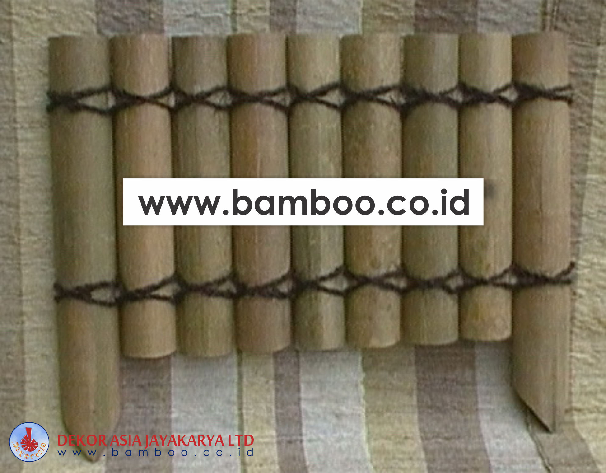 Bamboo Border Edging Natural - Bamboo Edging - Bamboo Borders