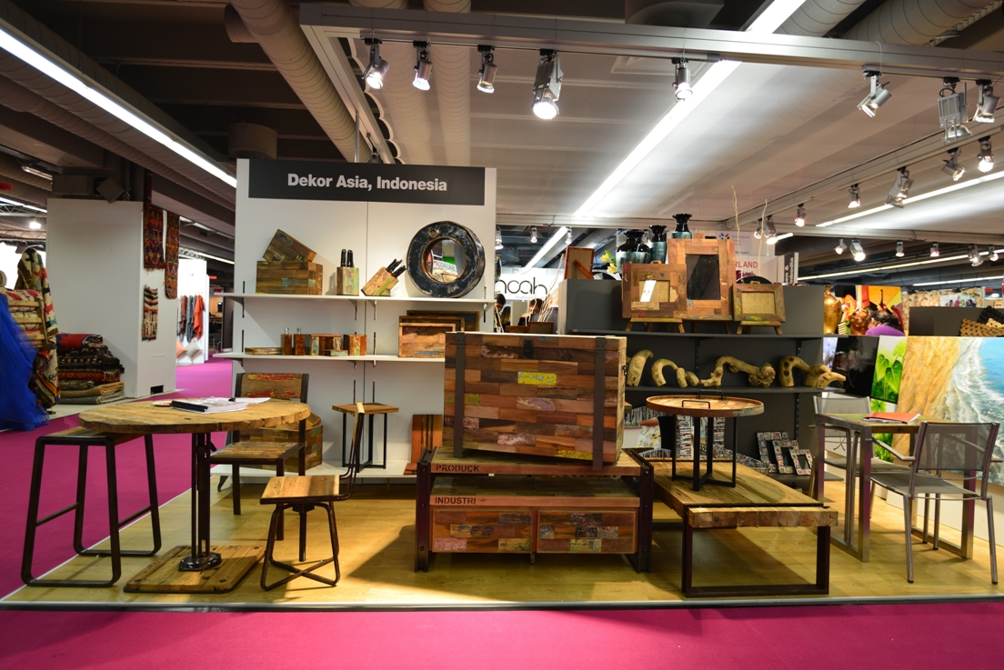Our trade show at ambiente messe 7 11 feb 2014 bamboo for Ambiente messe frankfurt